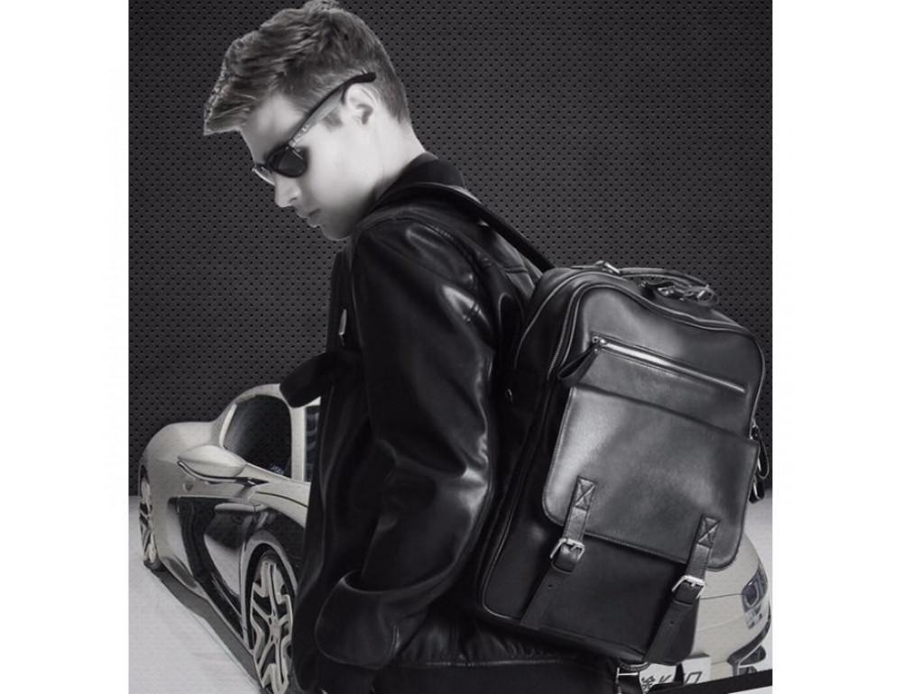 Кожаный рюкзак TIDING BAG B3-1691A - Фото № 9