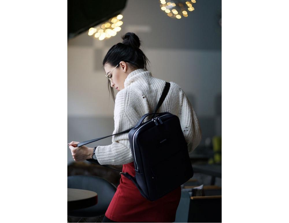Кожаный женский рюкзак blanknote мистик BN-BAG-19-mystic - Фото № 3