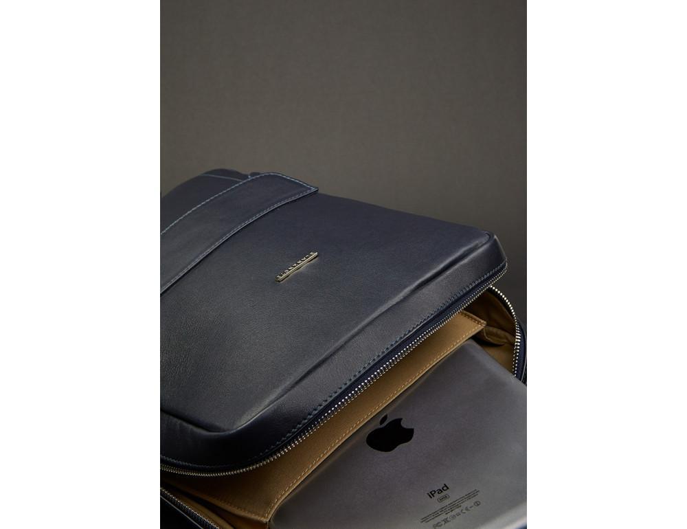 Кожаный женский рюкзак blanknote мистик BN-BAG-19-mystic - Фото № 6