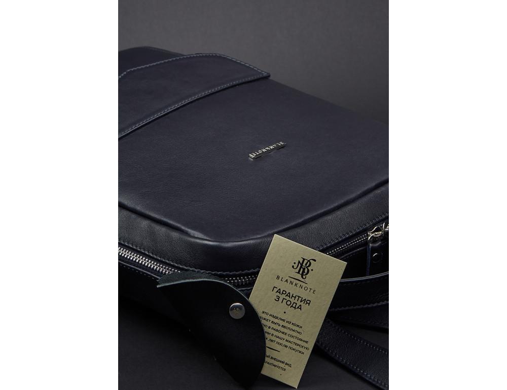 Кожаный женский рюкзак blanknote мистик BN-BAG-19-mystic - Фото № 7