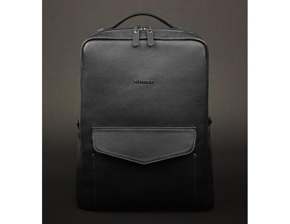 Шкіряний жіночий рюкзак blanknote НУАР BN-BAG-19-noire