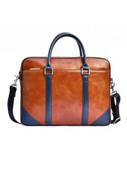 Мужской кожаный портфель Issa Hara B14 04-03