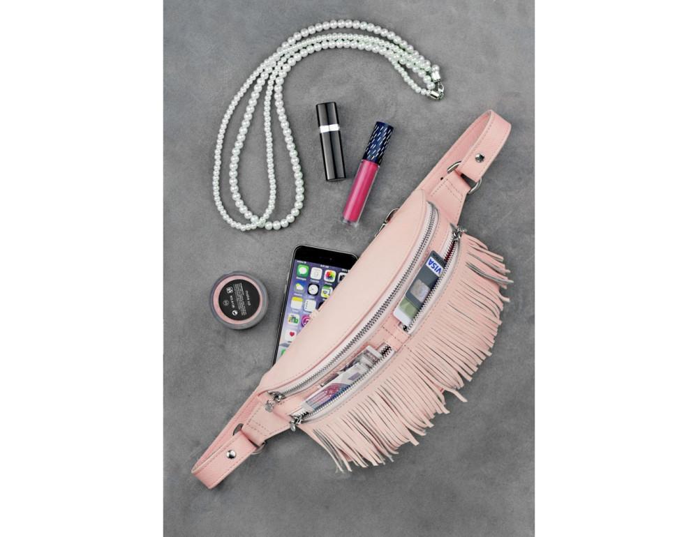 Жіноча сумка на пояс blanknote SPIRIT BN-BAG-15-barbi