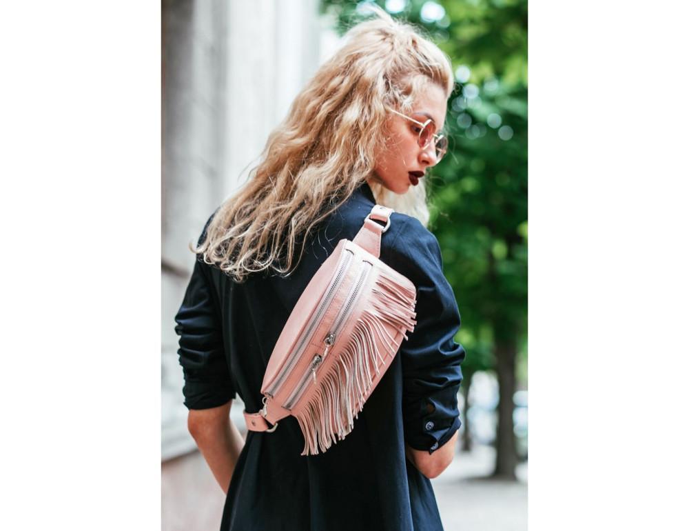 Жіноча сумка на пояс blanknote SPIRIT BN-BAG-15-barbi - Фотографія № 2