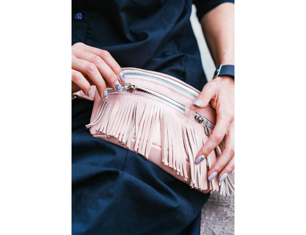Жіноча сумка на пояс blanknote SPIRIT BN-BAG-15-barbi - Фотографія № 6