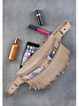 Женская сумка на пояс blanknote SPIRIT BN-BAG-15-crem-brule