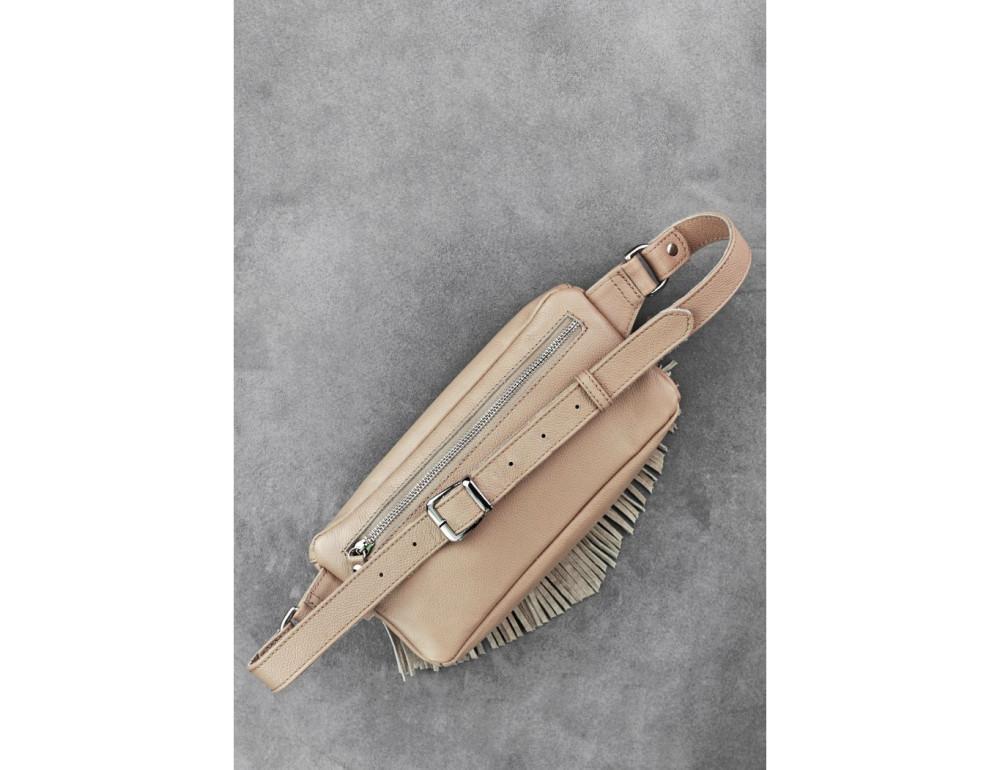 Женская сумка на пояс blanknote SPIRIT BN-BAG-15-crem-brule - Фото № 3