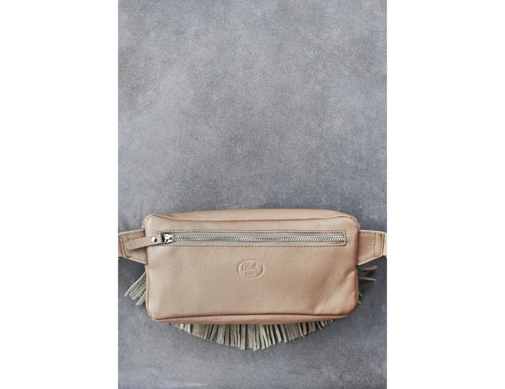 Женская сумка на пояс blanknote SPIRIT BN-BAG-15-crem-brule - Фото № 4