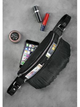 Женская сумка на пояс blanknote SPIRIT BN-BAG-15-onyx