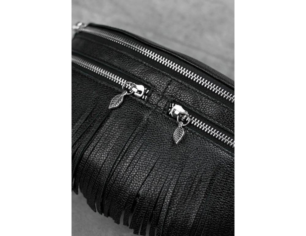 Жіноча сумка на пояс blanknote SPIRIT BN-BAG-15-onyx - Фотографія № 4