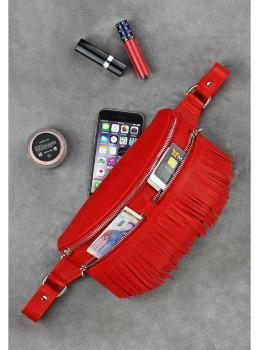 Женская сумка на пояс blanknote SPIRIT BN-BAG-15-rubin
