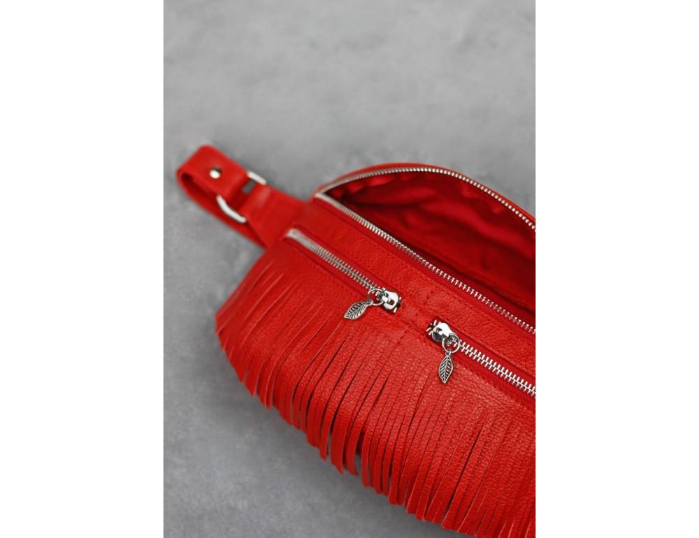 Женская сумка на пояс blanknote SPIRIT BN-BAG-15-rubin - Фото № 6