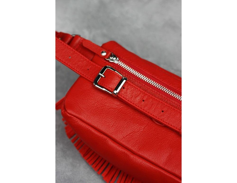 Женская сумка на пояс blanknote SPIRIT BN-BAG-15-rubin - Фото № 9