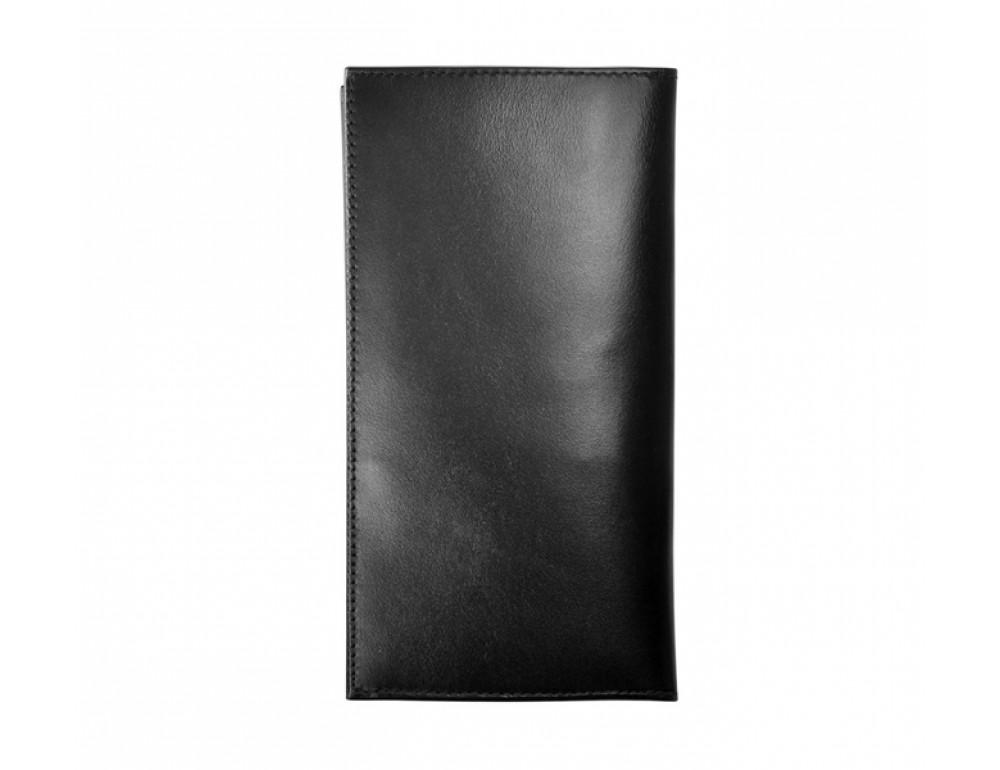 Мужской кожаный портмоне Issa Hara Ukraine black - Фото № 3