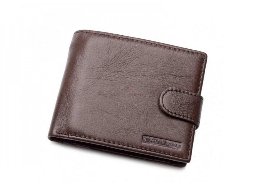 Чоловік шкіряний гаманець Ruff Ryder RR-38125W коричневий