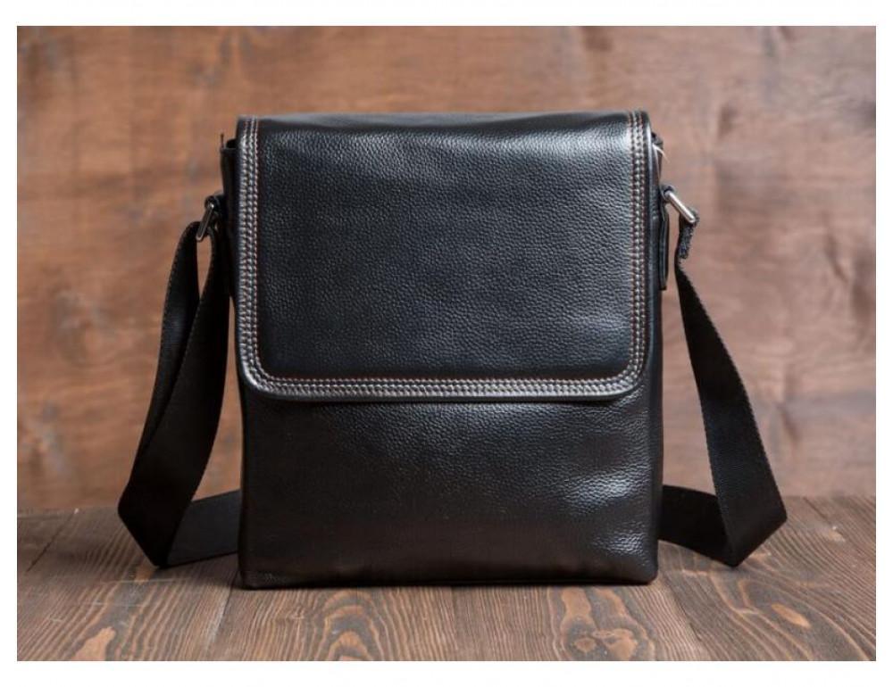 Шкіряна сумка через плече TIDING BAG M9806-1A - Фотографія № 2