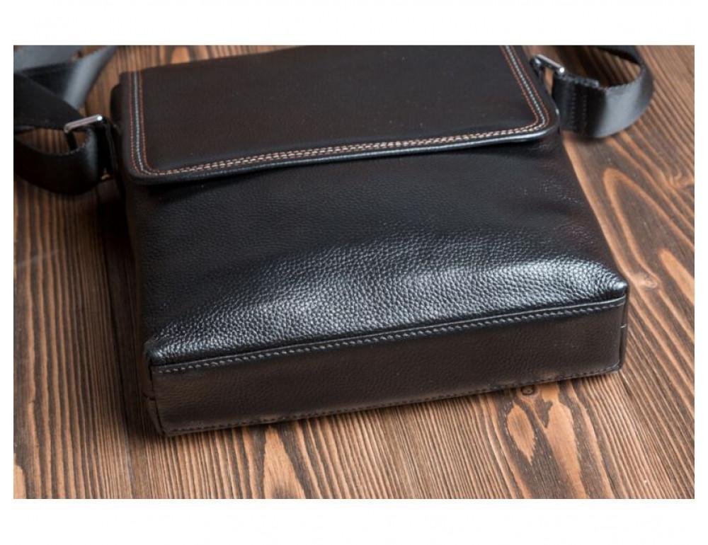 Шкіряна сумка через плече TIDING BAG M9806-1A - Фотографія № 4
