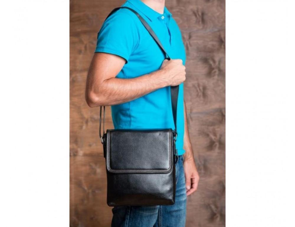 Шкіряна сумка через плече TIDING BAG M9806-1A - Фотографія № 7
