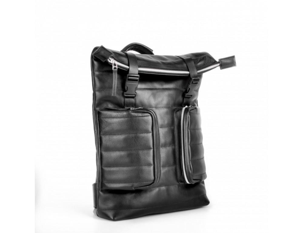 Чоловік шкіряний рюкзак jizuz Motto M403511B - Фотографія № 2