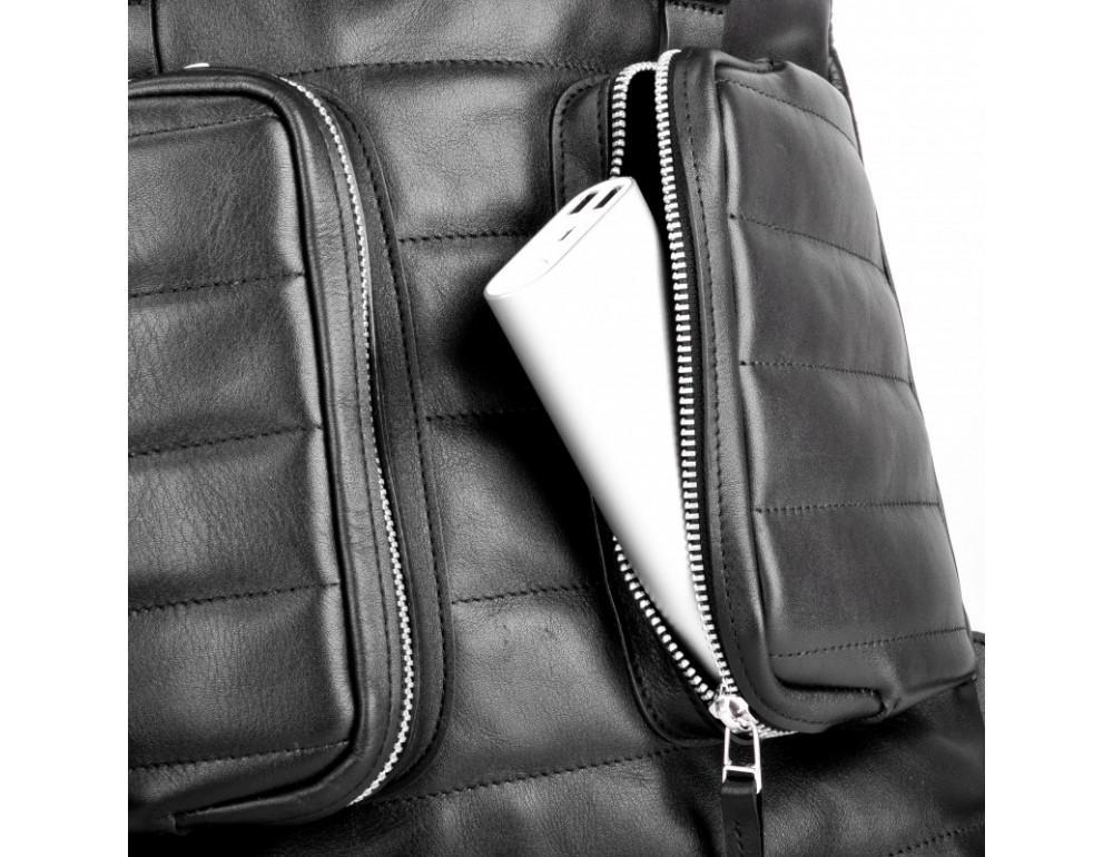 Чоловік шкіряний рюкзак jizuz Motto M403511B - Фотографія № 9