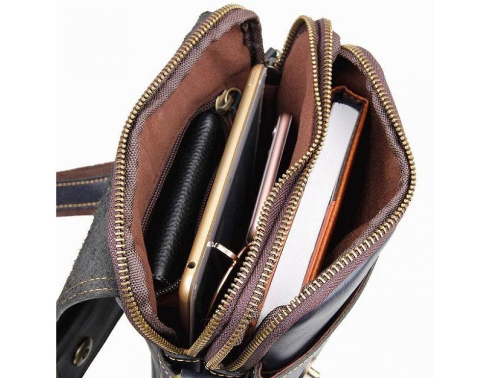 Мужская сумка планшет Bexhill MR1006K - Фото № 8