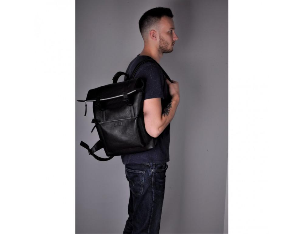 Чоловік шкіряний рюкзак Desert jizuz D403511B - Фотографія № 2