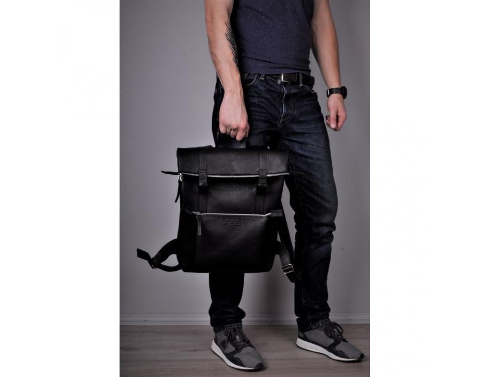 Чоловік шкіряний рюкзак Desert jizuz D403511B - Фотографія № 8
