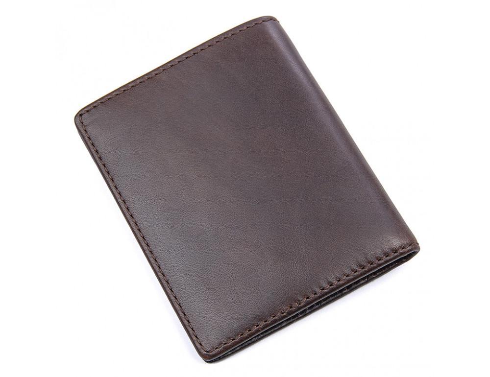 Мужской кожаный кошелёк S.J.D. R-8172-2Q - Фото № 2