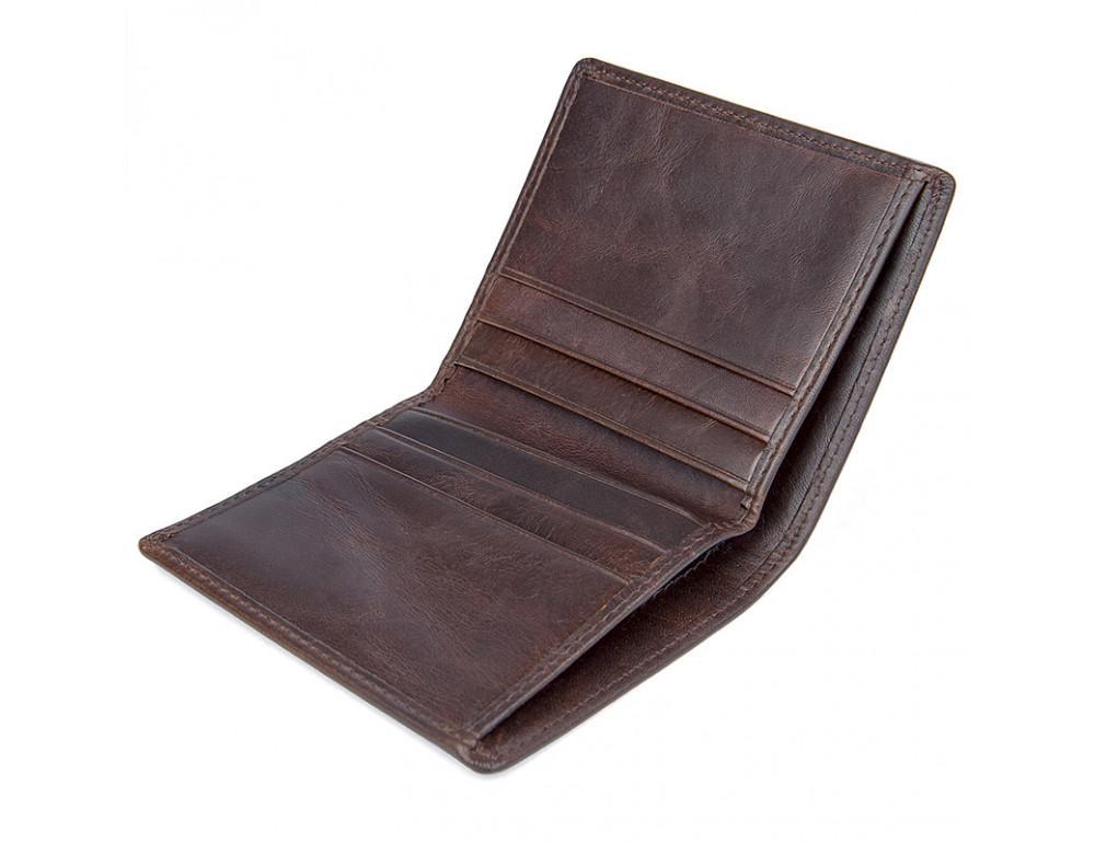 Мужской кожаный кошелёк S.J.D. R-8172-2Q - Фото № 4