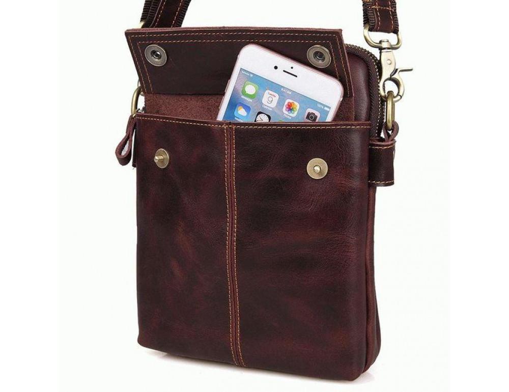 Мужская сумка через плечо Bexhill MR1002X - Фото № 4