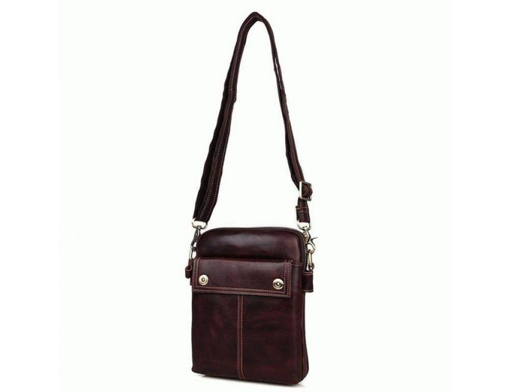 Мужская сумка через плечо Bexhill MR1002X - Фото № 7