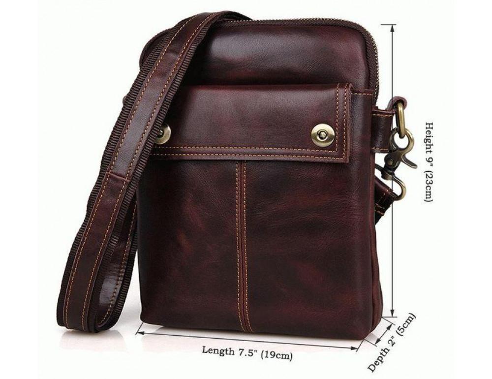 Мужская сумка через плечо Bexhill MR1002X - Фото № 9
