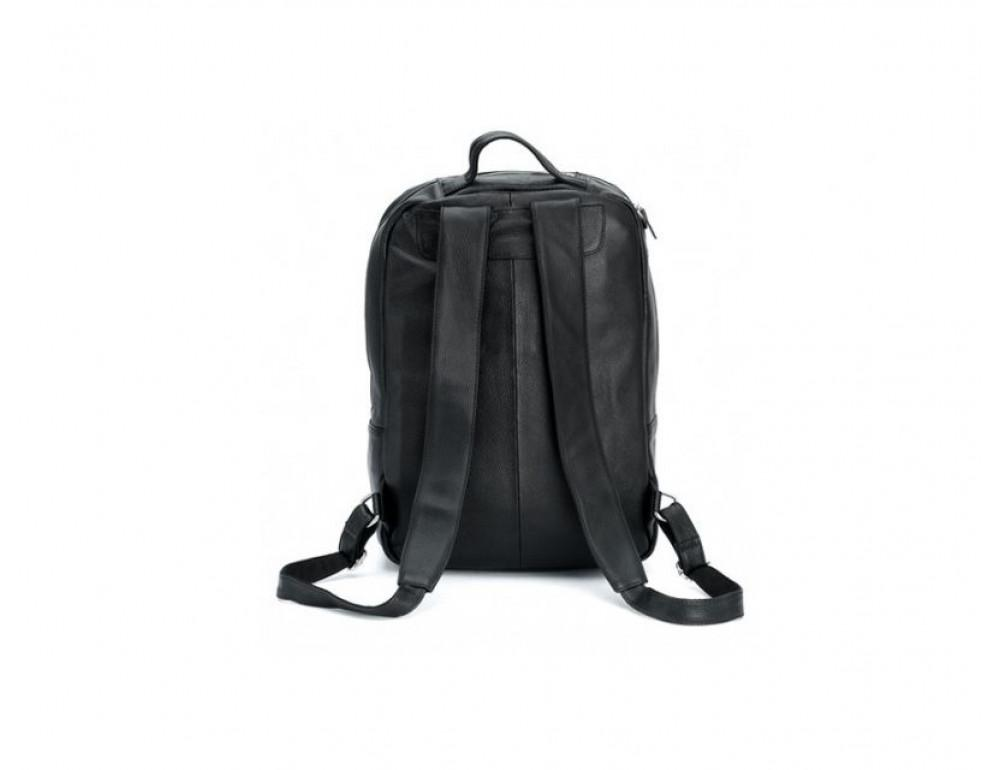 Чоловічий шкіряний рюкзак TIDING BAG T3064 чорний - Фотографія № 8