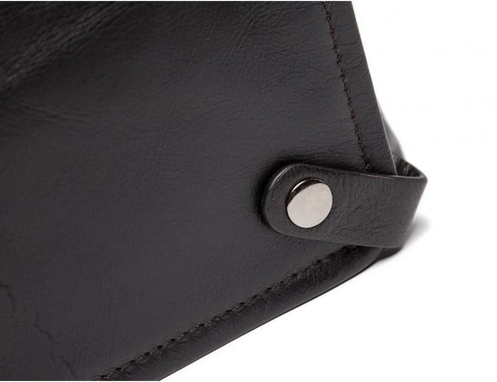Кожаная сумка под ноутбук (macbook) JASPER MAINE 7120C-2  - Фото № 9