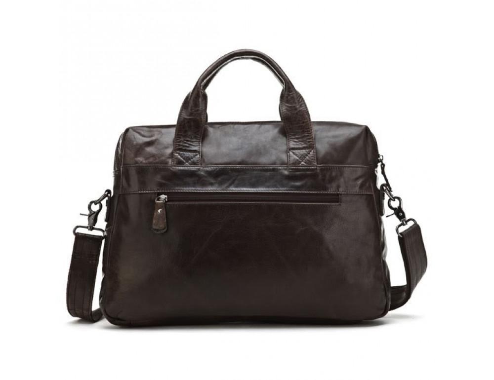 Кожаная сумка для ноутбука JASPER & MAINE 7122C - Фото № 3