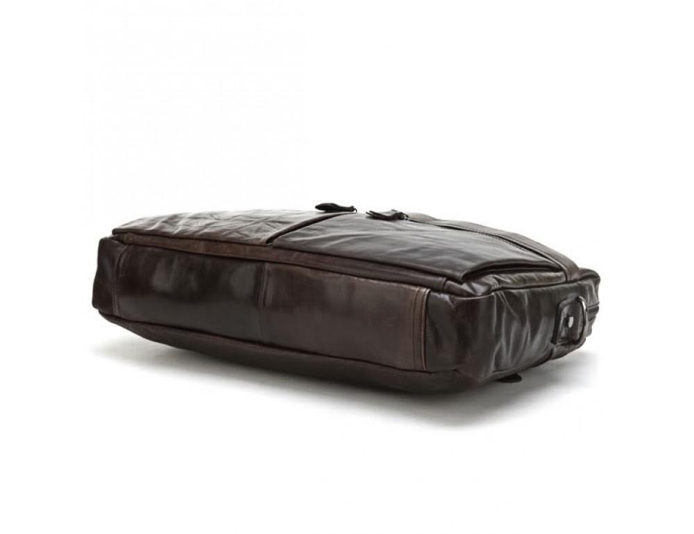 Кожаная сумка для ноутбука JASPER & MAINE 7122C - Фото № 4