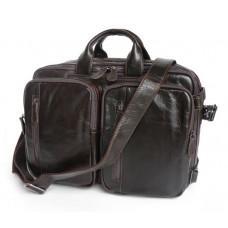 Кожаная сумка-рюкзак JASPER & MAINE 7014Q-2