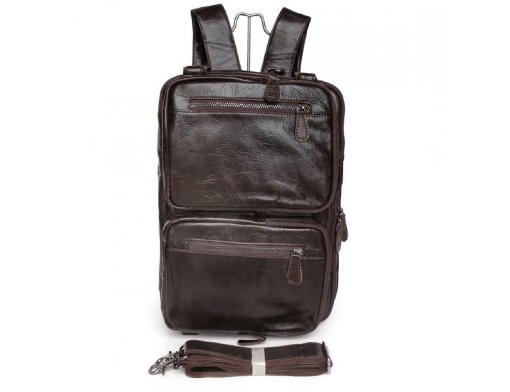 Кожаная сумка-рюкзак JASPER & MAINE 7014Q-2 - Фото № 2