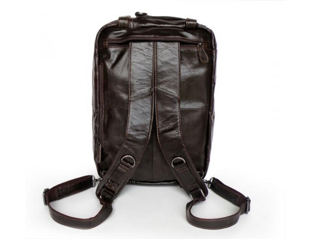 Кожаная сумка-рюкзак JASPER & MAINE 7014Q-2 - Фото № 5