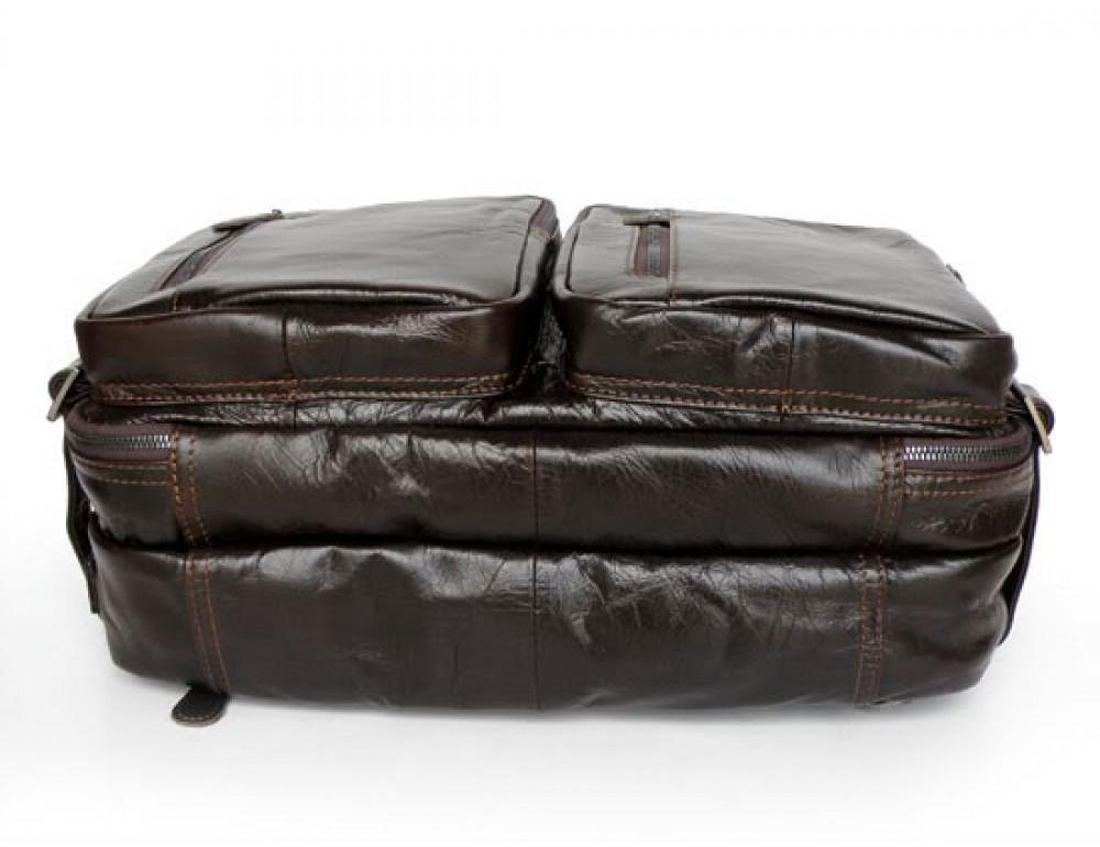Кожаная сумка-рюкзак JASPER & MAINE 7014Q-2 - Фото № 6