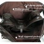 Кожаная сумка-рюкзак JASPER & MAINE 7014Q-2 - Фото № 107