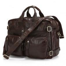 Кожаная сумка-рюкзак JASPER & MAINE rb7061C