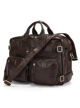 Кожаная сумка-рюкзак JASPER & MAINE 7061C