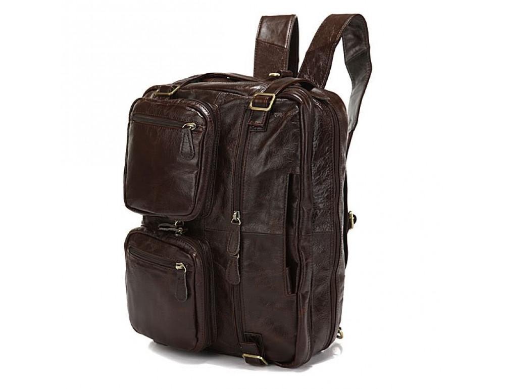 Кожаная сумка-рюкзак JASPER & MAINE rb7061C - Фото № 2