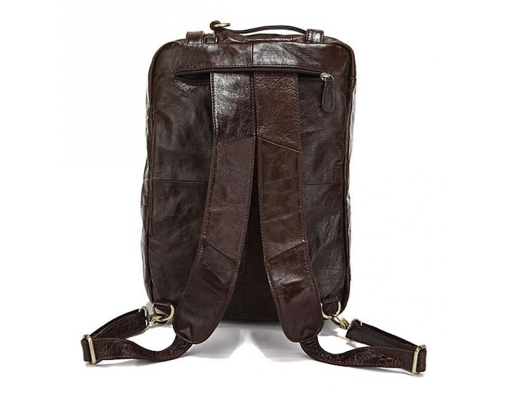 Кожаная сумка-рюкзак JASPER & MAINE rb7061C - Фото № 4
