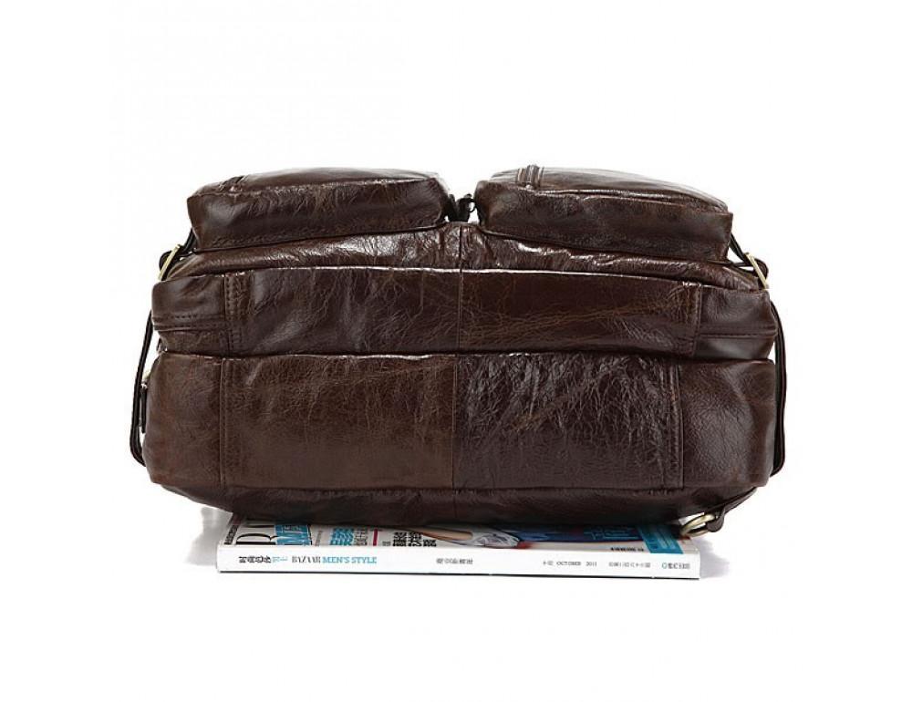 Кожаная сумка-рюкзак JASPER & MAINE rb7061C - Фото № 5