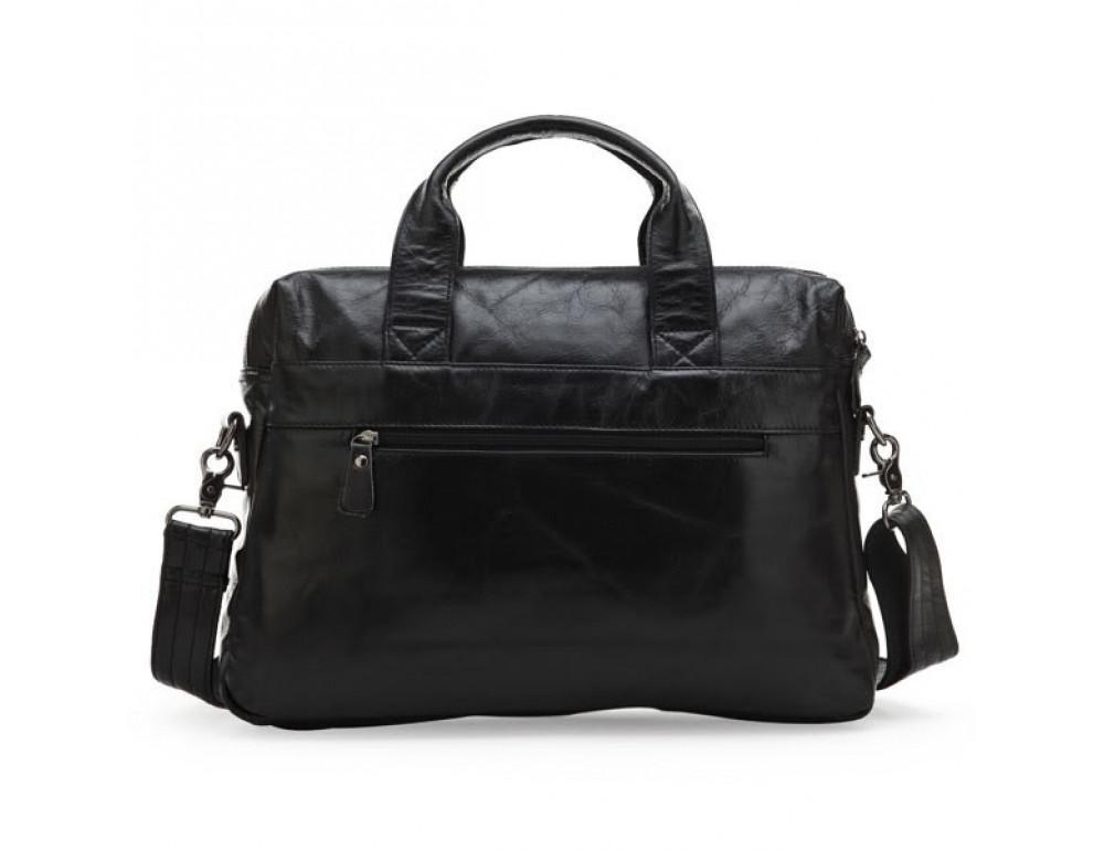 Шкіряна сумка для ноутбука JASPER & MAINE 7122A - Фотографія № 2