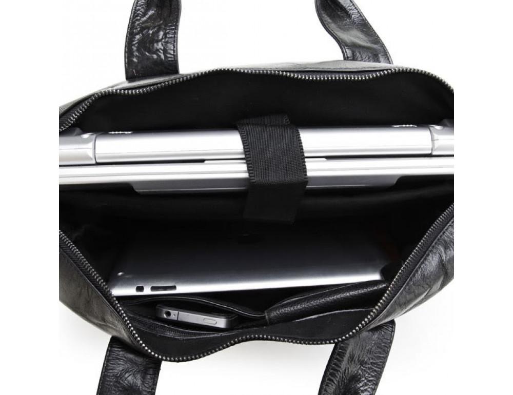 Шкіряна сумка для ноутбука JASPER & MAINE 7122A - Фотографія № 5