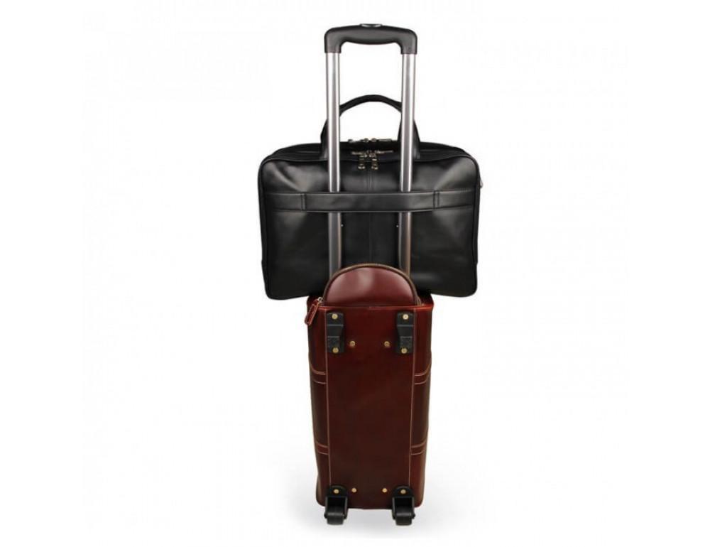 Чоловіча шкіряна сумка TIDING BAG 7289A - Фотографія № 2