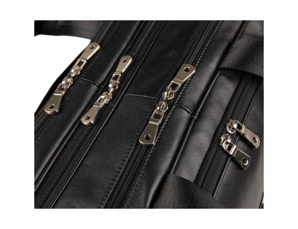 Чоловіча шкіряна сумка TIDING BAG 7289A - Фотографія № 12
